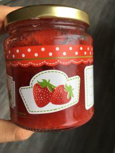 Limetten-Vanille-Erdbeer Marmelade