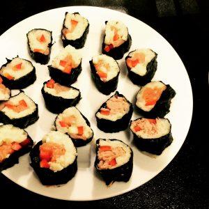 Sushi low carb