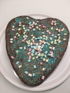 Schoko Nuss Kuchen Glutenfrei Hinter Dem Regenbogen