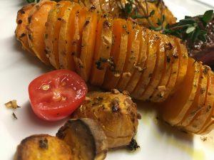Süßkartoffel Raupe