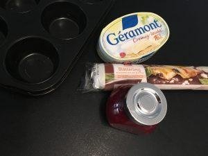 Camembert im Teigmantel mit Marmelade