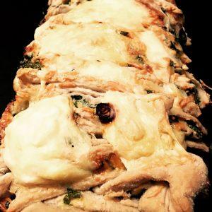 Kräuter-Knoblauch-Pullapart-Bread