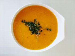 Süßkartoffel Suppe