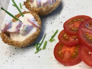 Croustades mit Tomaten Concassée