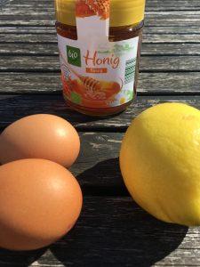 Eier-Zitronen-Haarkur