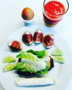 Frühstücksbrote Wurst