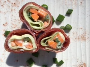 Schinken Sushi