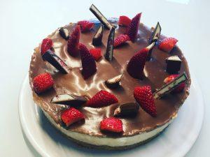 Erdbeer Yoguretten Torte