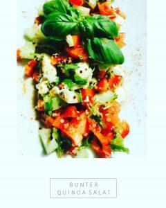 Bunter Quinoasalat