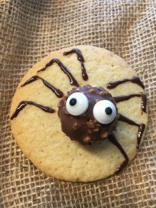 Spinnen Kekse