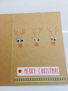 Rentier Weihnachtskarten