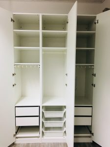 Neue Struktur im Kleiderschrank