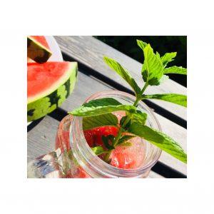Melonen Wasser