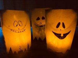 Brottüten Halloween Geister