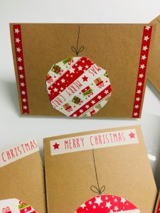 Christbaumkugel Weihnachtskarten