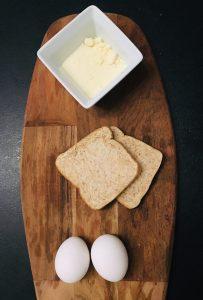 Spiegelei Toast