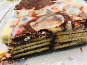 Schokoladen Butterkeks Kuchen