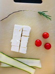 Zucchini-Feta-Spieße