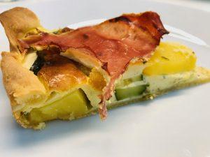 Zucchini-Kartoffel-Tarte