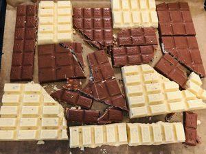 Bruch Schokolade