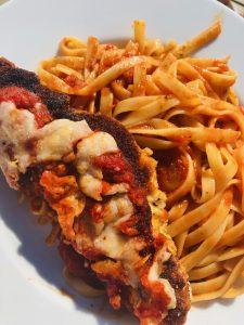 Schnitzel Parmigiana
