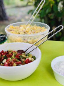 Avocado Tomaten Salat