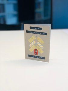 Tannenbaum Weihnachtskarten mit Masking Tape