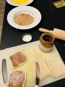 French Toast Zimt Röllchen
